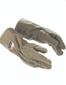 arc flash ppe nomex gauntlet gloves