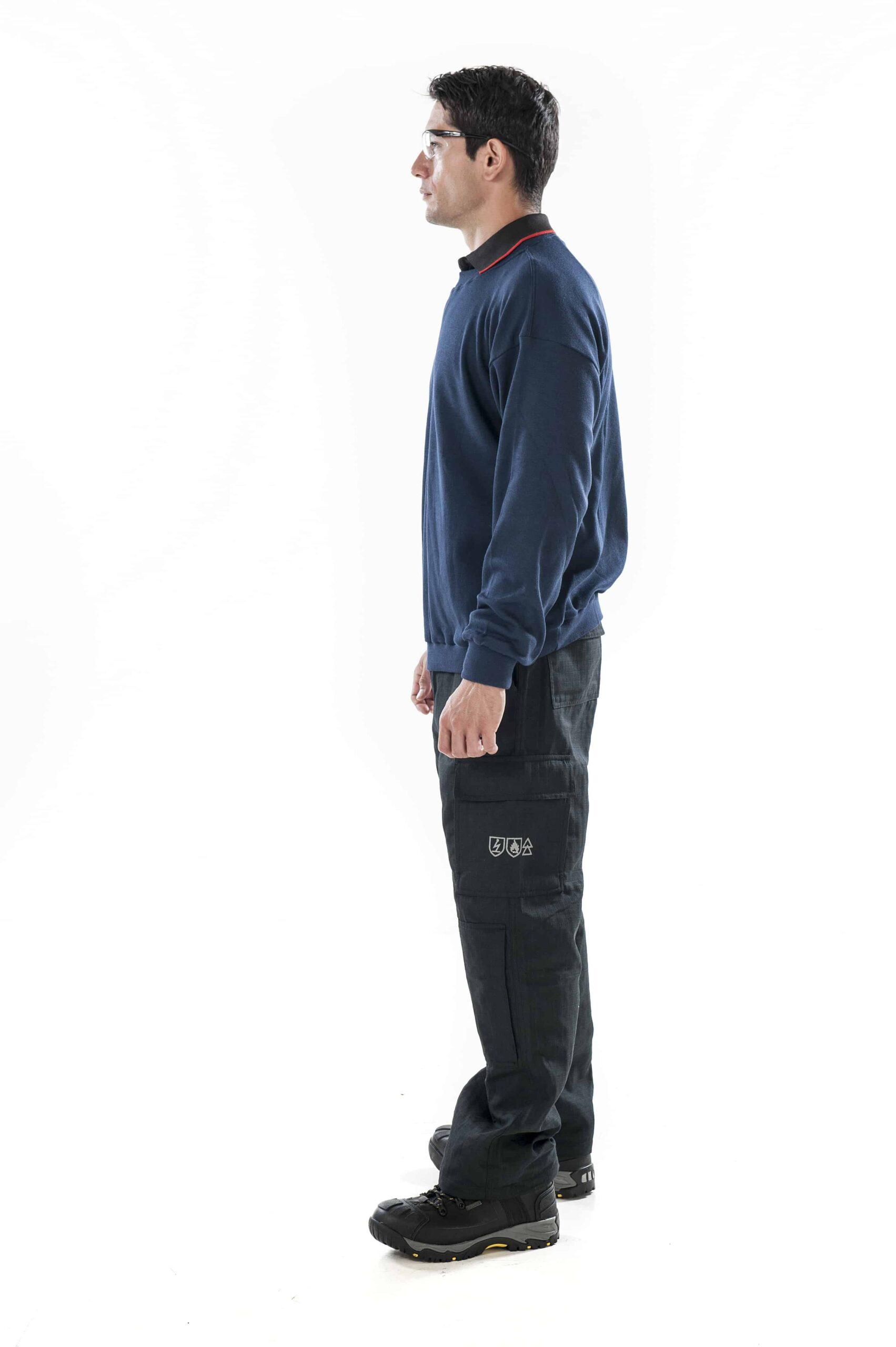 ArcBan® Blue Sweatshirt left side