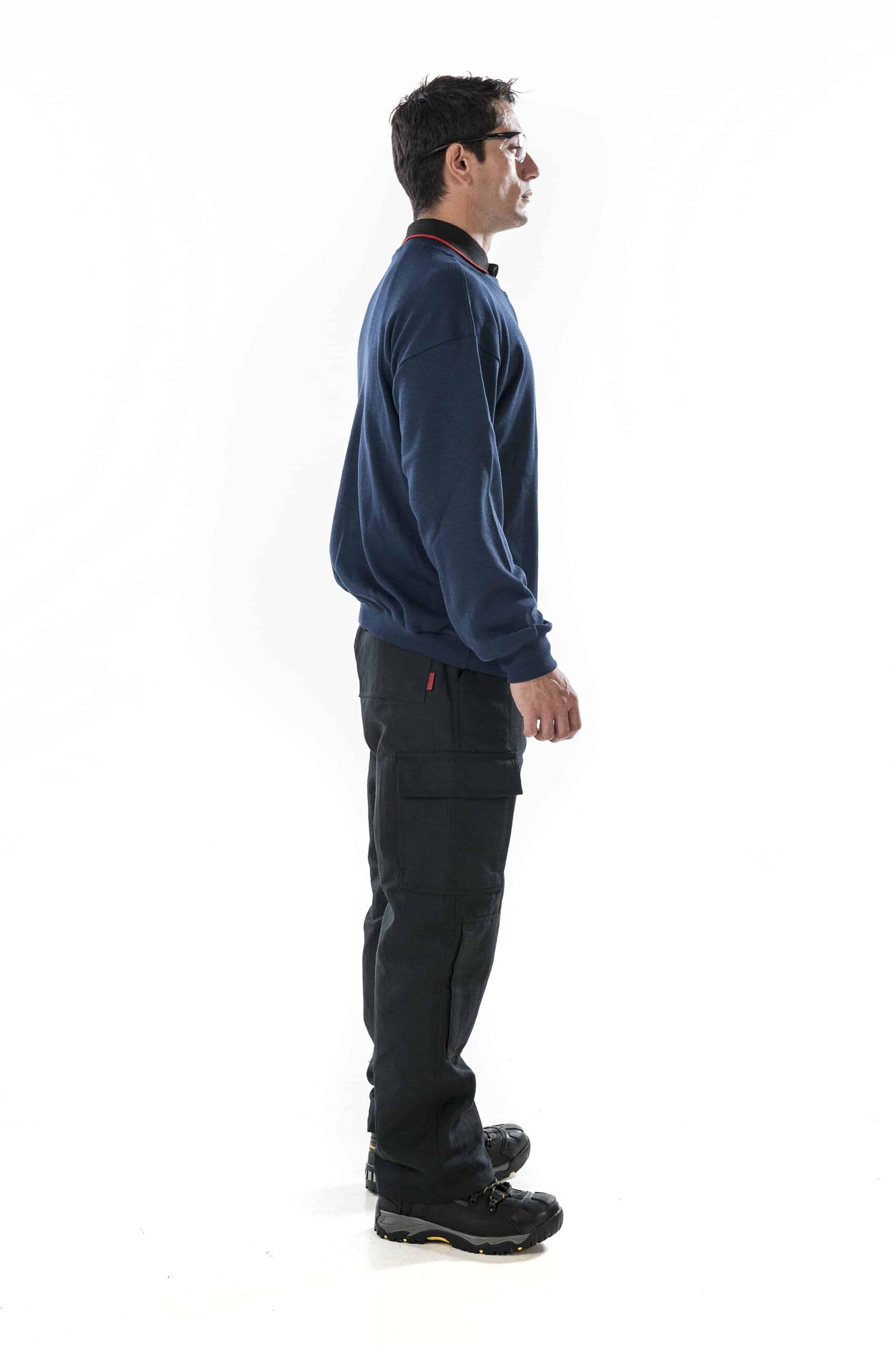 ArcBan® Blue Sweatshirt right side