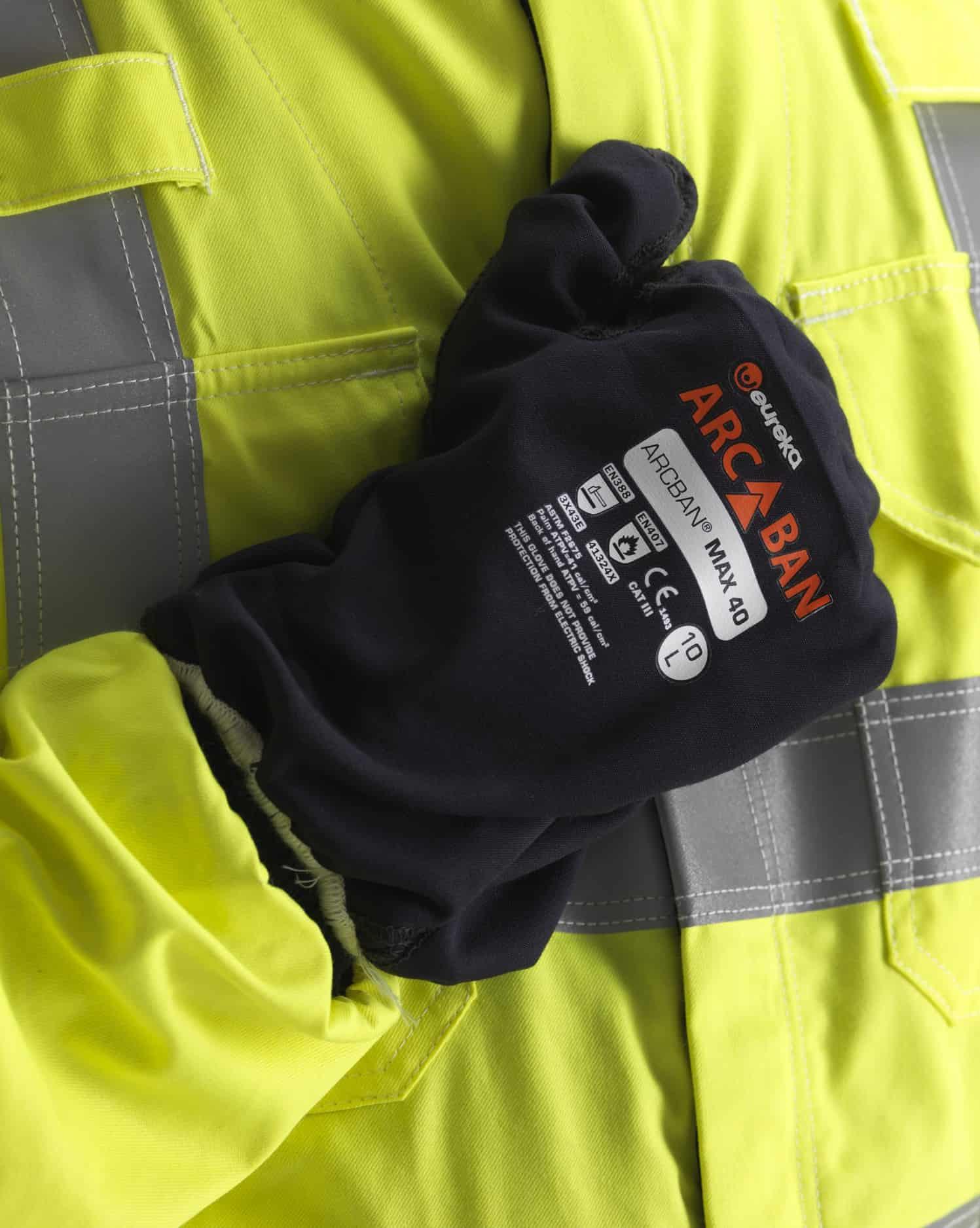 ArcBan ARC Protection Gauntlet close up