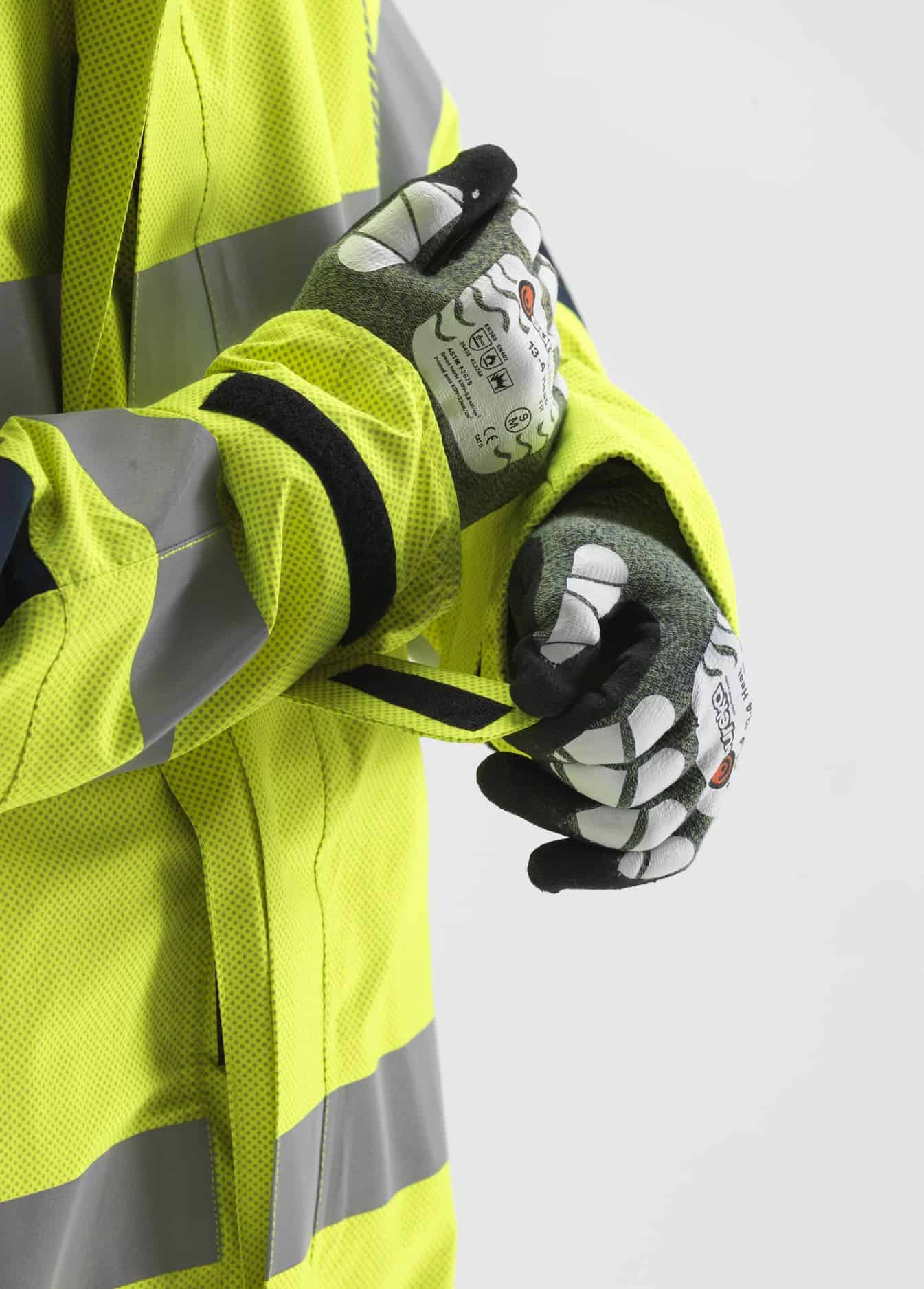 FK28 PYRAD Coverall velcro sleeves