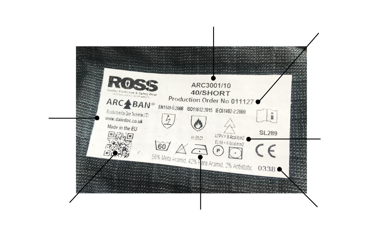 JK Ross Label Small