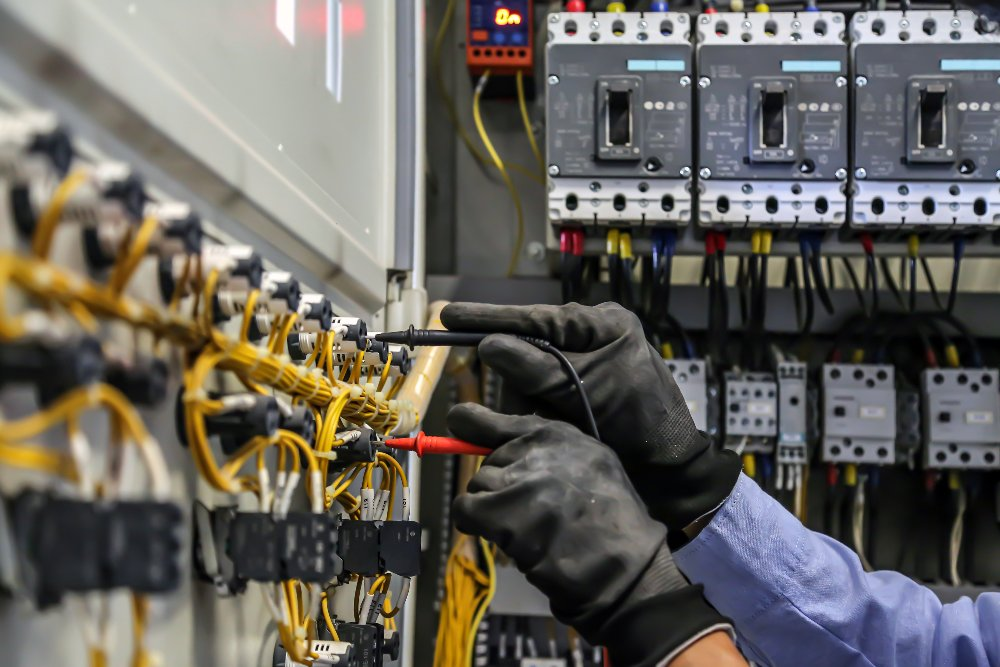 Arc flash electrical safety testing process