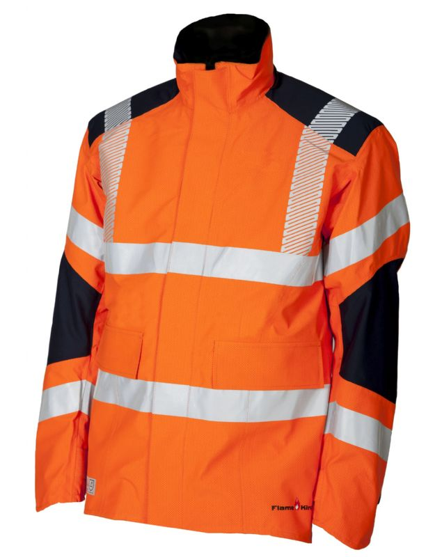 FK25 hi vis orange jacket