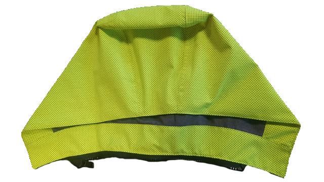 FK25 hi vis yellow hood
